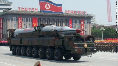 North Korea has displayed its ICBMs in public, but never tested them.