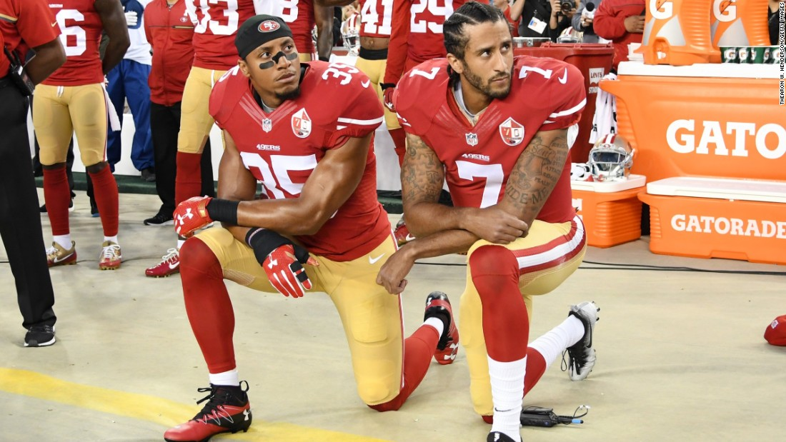 Image result for colin kaepernick rally in los angeles