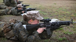 Military welcomes first women infantry Marines