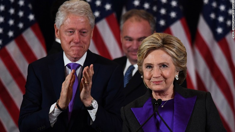 Image result for hillary clinton in tears after losing to Trump