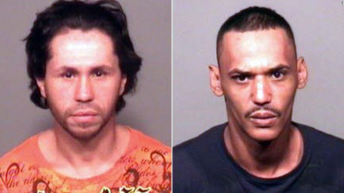 Wilson Eschevarria, left, and Anthony Hobdy, right.