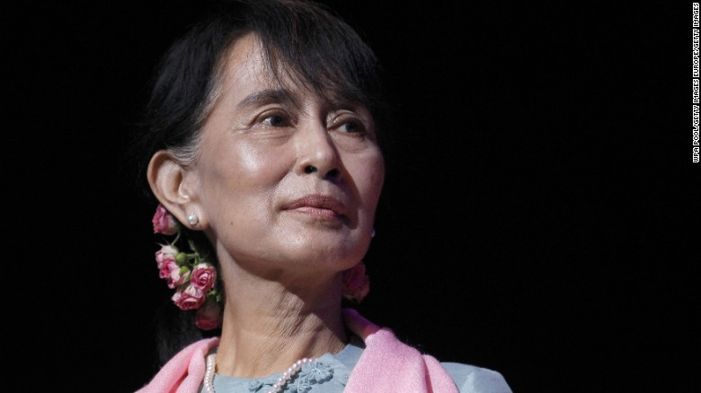 Myanmar's democracy icon on her nation's persecuted minority