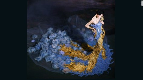 "The designer celebrated the Chinese lunar year of the dragon with her mythology-inspired collection, ""Legend of the Dragon,"" in 2012."