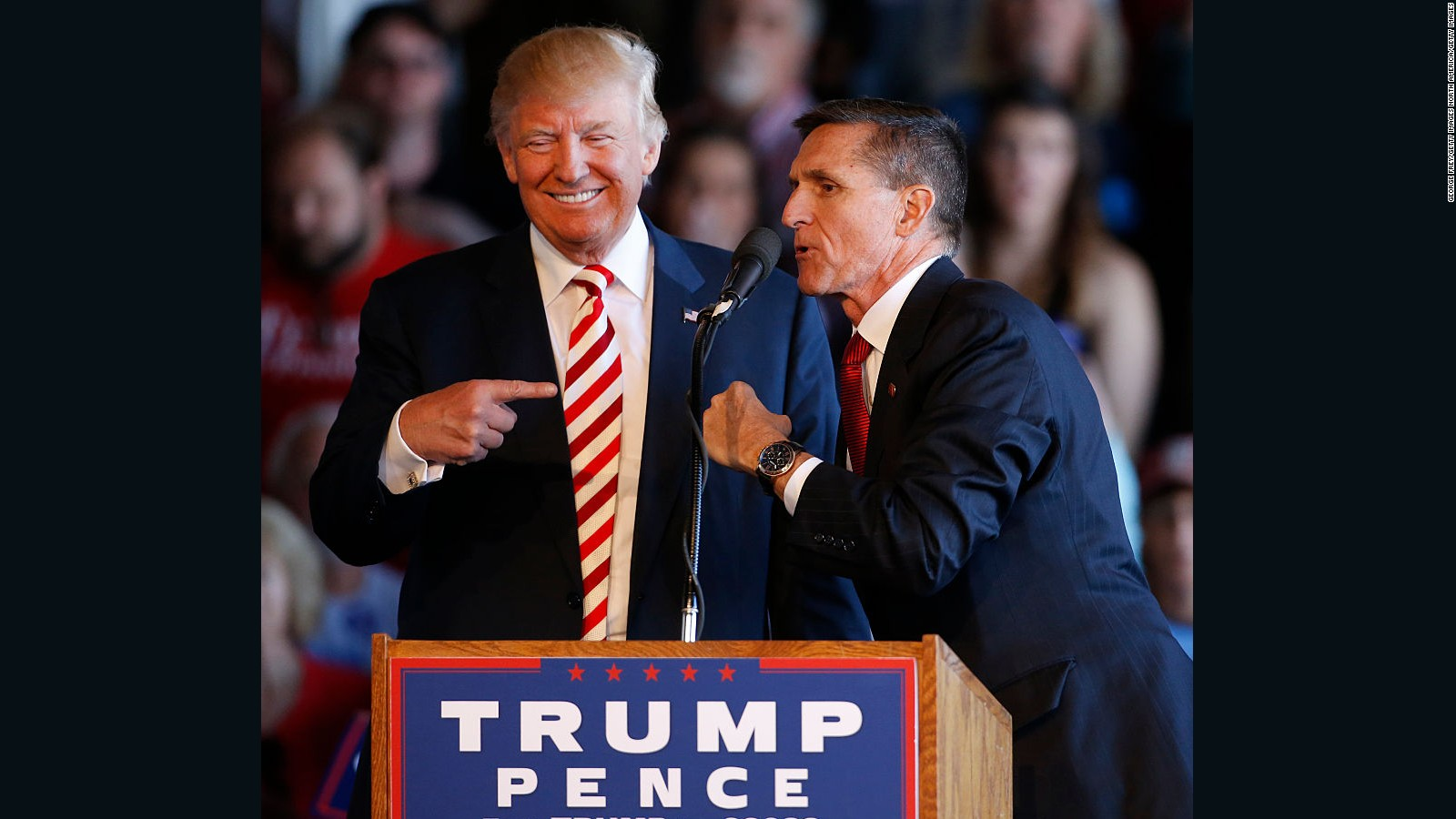 Image result for photos of trump and flynn