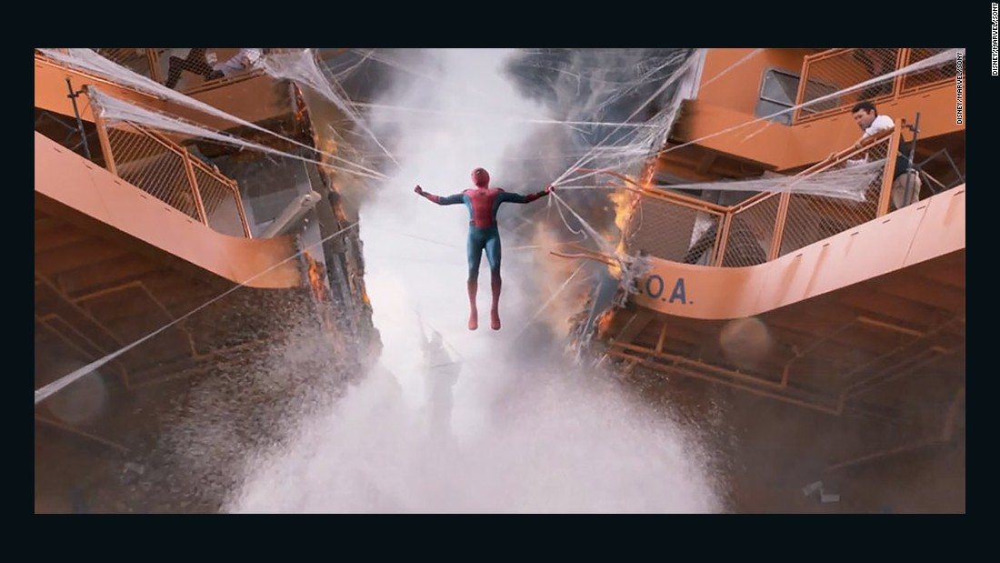 spiderman homecoming trailer