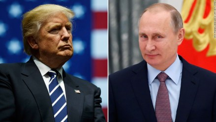 Trump and Putin, Russian influence scandal