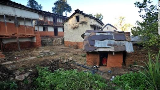 What's a 'menstruation hut?'