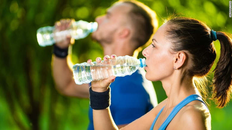 Drink lots of water or hot tea to help keep your airways clear. Try to avoid sweetened beverages such as sports drinks and juices.