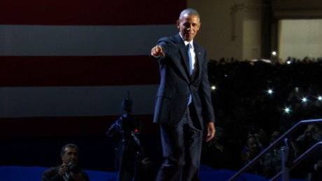 Obama: We give democracy power