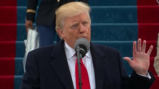 Image result for trump at inauguration