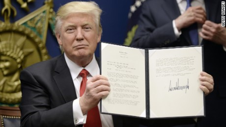 Image result for trump executive order