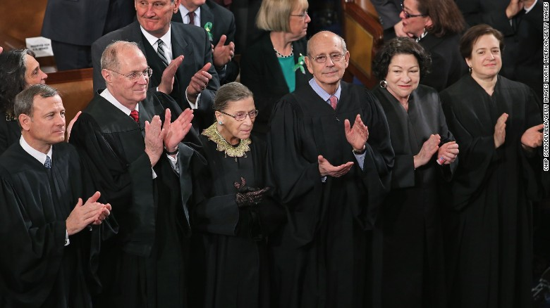 Image result for images of US supreme court justices 2017