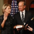 Betsy devos sworn in sec education