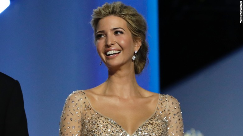 Image result for Ivanka Trump steps into role behind her father