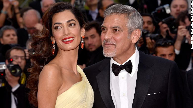 """George and Amal Clooney are expecting twins.  Matt Damon, the actor's friend and co-star in the """"Ocean's"""" series, <a href=""""http://www.cnn.com/2017/02/09/entertainment/george-clooney-amal-clooney-twins/index.html"""" target=""""_blank"""">confirmed the news</a>. These are the first children for the couple, who married in 2014."""