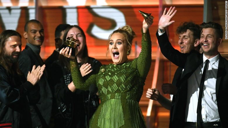 Image result for Grammys 2017: Adele and Beyoncé's big moments