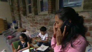 Mother faces deportation, takes sanctuary
