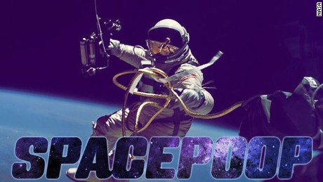 The logo for NASA's crowdsourced 'space poop challenge'