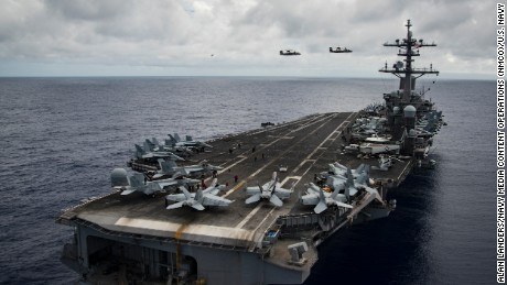 US warships sent to Korea: What to know