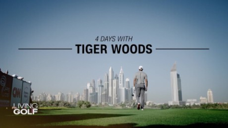 4 days with Tiger Woods