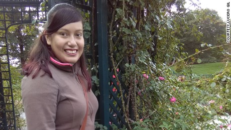 DACA-status student Lucero Gil is majoring in biology on the pre-med track at Lehman College in New York.