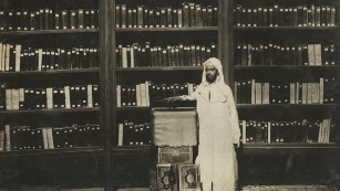 A librarian at al-Qarawiyyin in 1931