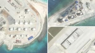 South China Sea: Aircraft hangars, radar installed on artificial islands