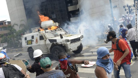 Protests come as the country deals with food shortages