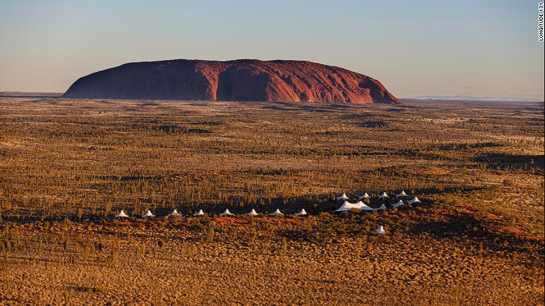 Longitude 131 is an exclusive enclave in Australia's Red Centre.