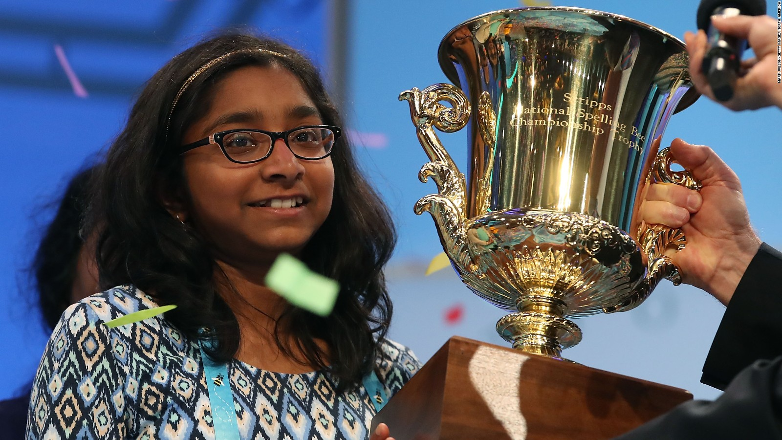 Image result for National Spelling Bee winner clinches title with 'marocain'