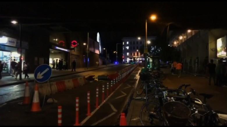 Witness: Van hit pedestrians on bridge