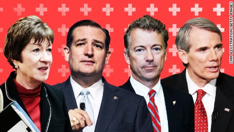 There's no Senate health care bill yet. These are the key players