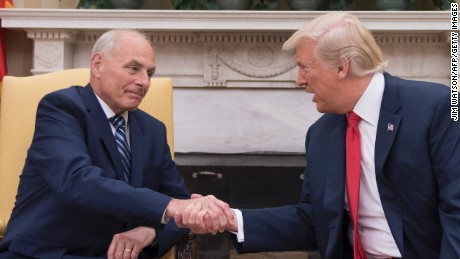 Trump chafes at Kelly constraints but looks forward to results