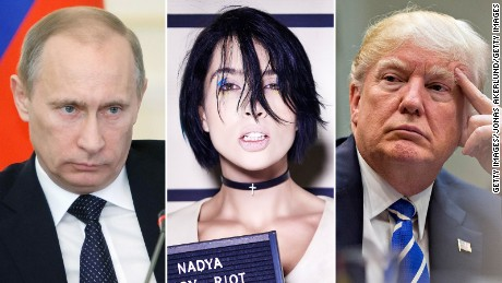 Pussy Riot member talks US-Russia relations