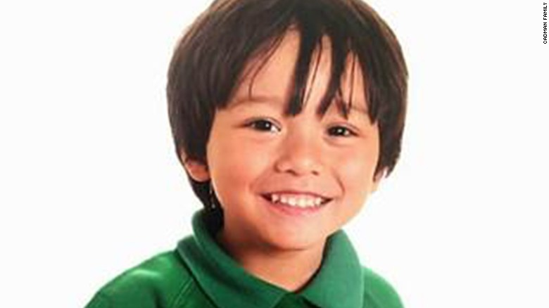 7-year-old Australian Julian Cadman was reported missing by his family.