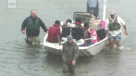 Image result for Thousands rescued as Harvey's waters rise