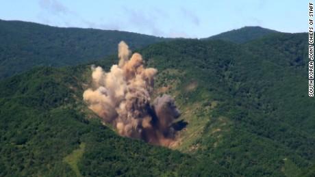 South Korea's explosive response to North Korea missile