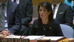 Haley: Kim Jong Un is begging for war