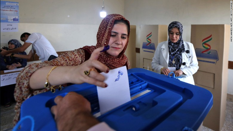 iraq kurdistan referendum