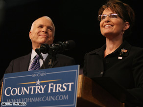 John McCain's choice of Sarah Palin as his running mate came as a surprise.