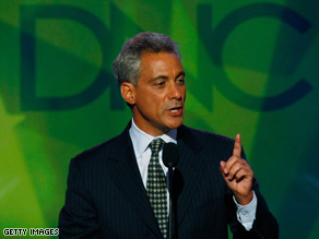 Rahm Emanuels appointment got mixed reaction from Republican and Democratic leaders.