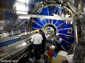 The collider's ALICE experiment will look at how the universe formed by analyzing particle collisions.