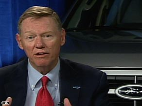 "Ford CEO Alan Mulally says Tuesday the auto industry ""is just absolutely essential"" to the economy."
