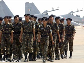 """One U.S. official said India's air force """"went on alert"""" after the attacks in Mumbai."""