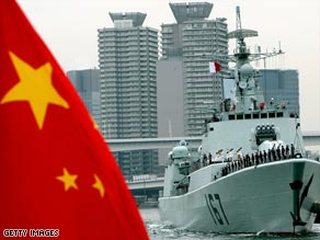 China has reportedly been working to rapidly modernize its fleet.