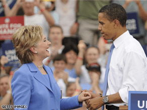 A new poll shows many of Clinton's supporters still aren't read to back Obama.