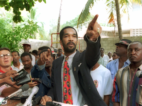 Emmanuel''Toto'' Constant in Port-au-Prince, Haiti, 1994