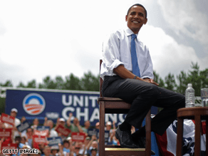 Obama tops McCan by 6 in the latest CNN poll of polls.