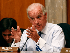 Biden is a powerful Senate ally of Barack Obama.