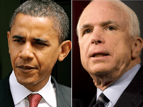 The McCain campaign says Obama is 'playing the race card.'